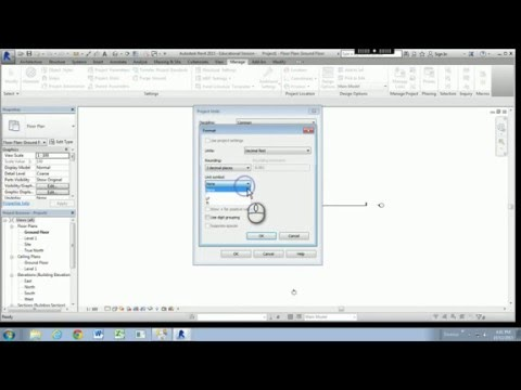 How to Change the Units in Revit