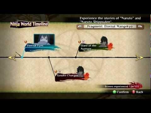 Naruto Shippuden Ultimate Ninja Storm 3: How To Unlock EMS Sasuke - Eternal Mangekyou Fragment