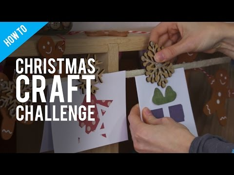 £10 Christmas Craft Challenge