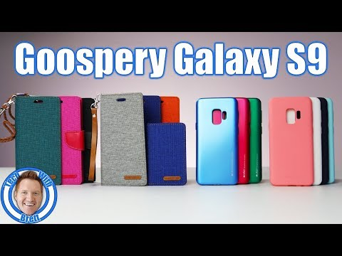 Goospery Case Review for Galaxy S9: Canvas Flip, Canvas Diary, i-Jelly, Soft Feeling