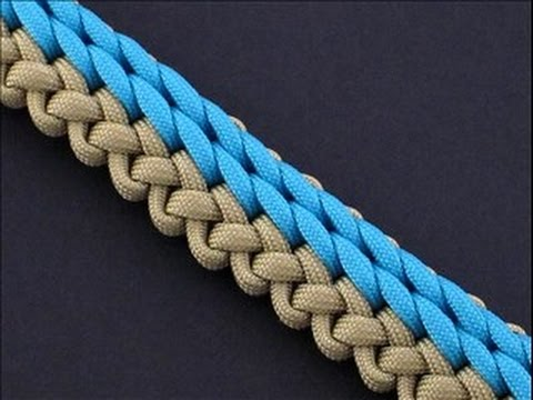 How to Make the Rolling Shore Waves (RSW) Sinnet (Paracord) Bracelet by TIAT