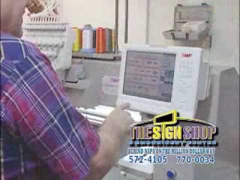 Sign Shop Commercial