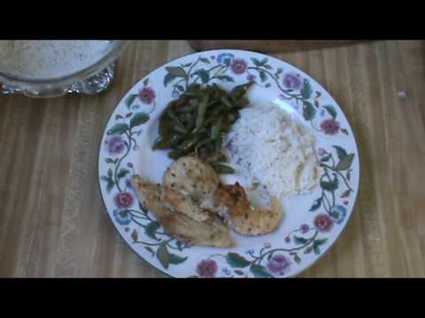 Green Beans Adubo With Herb Chicken