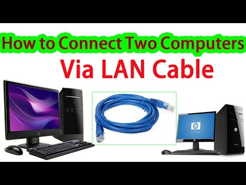How to Connect Two Computers Via LAN Cable / Networking Tutorials for Beginners