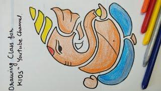 How To Draw Lord Ganesha Vinayakachavithi Drawing Artistica