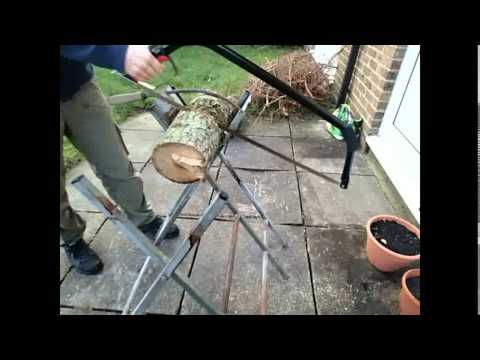How To - Use a Bow Saw
