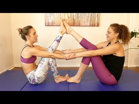Yoga for Flexibility: Beginner Partner Stretches for Pain, Stress, How to Get More Flexible