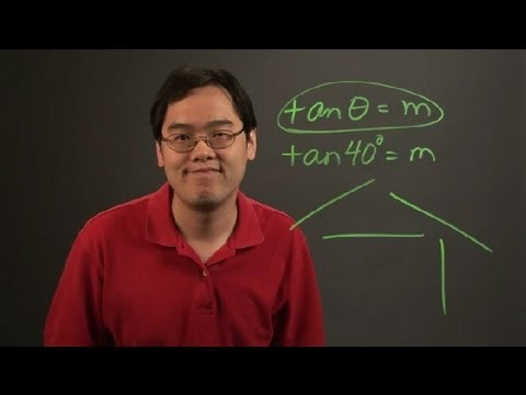 How to Convert Angles to Slope : Angles & Other Math Tips