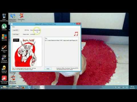 MP3 Album Artwork Tool