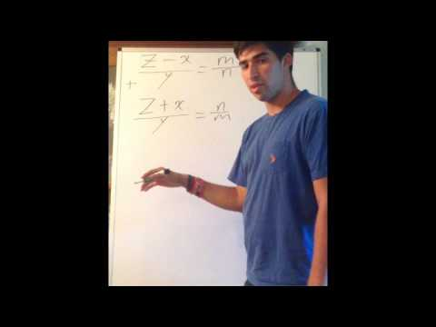 Deriving the Pythagorean Triplets from the Pythagorean Theorem