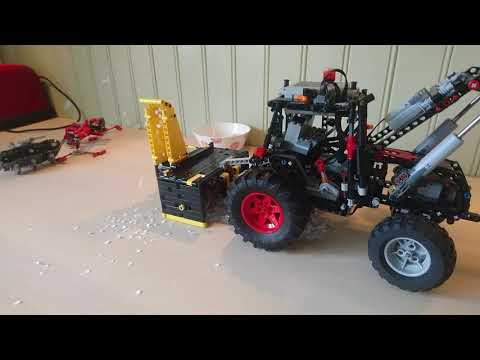 Lego technic Snow Blower Valmet 305