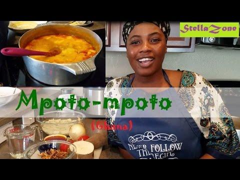 How to prepare Ghana Mpoto-mpoto   Asaro   Yam Porridge