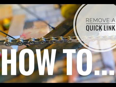 HOW TO remove a quick link without a tool!!!!! **EASY**
