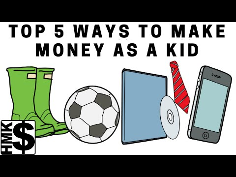 Top 5 Money Making Ideas For Kids