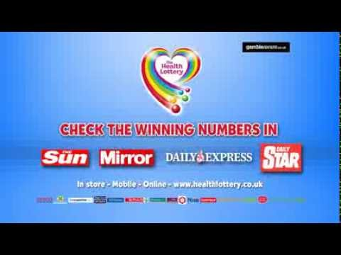 The Health Lottery - How to play 2014