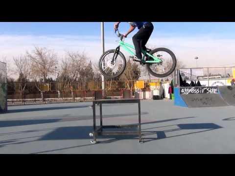 trial street inspired bicycles milad naseri morteza nasirzade in skatepark
