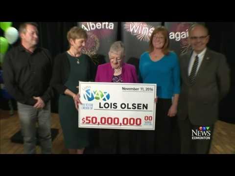$50M Lotto jackpot winner is revealed in Alberta