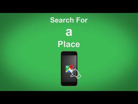 Google Maps   Search For A Place
