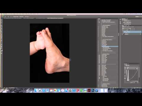 How to create a black background in Photoshop