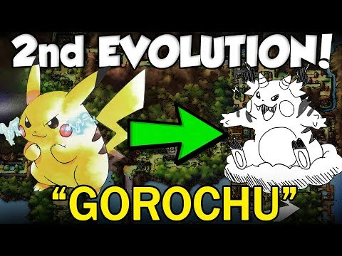 Pikachu's MISSING EVOLUTION - GOROCHU IS REAL!