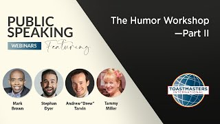The Humor Workshop—Part II