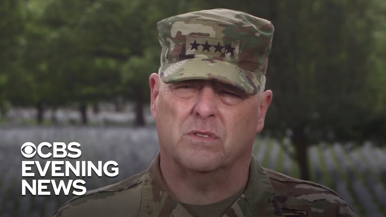 Chairman of the Joint Chiefs of Staff on honoring fallen heroes for Memorial Day