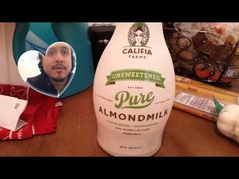REVIEW!: Califia Farms Unsweetened Almond Milk