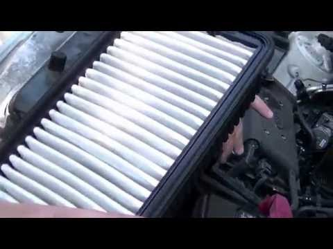 How to Change Engine Air Filter 2011 KIA Soul