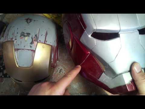 How I create IronMan helmets