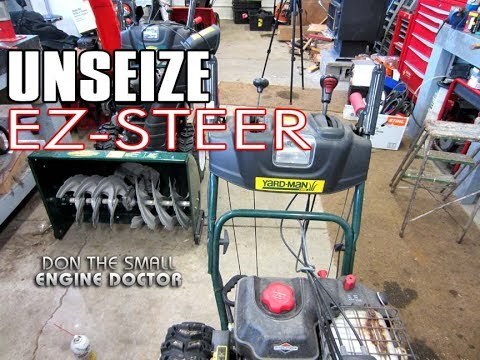 HOW-TO Unseize The EZ-STEER On A Snowblower