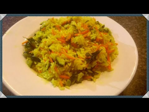 BEST RICE PILAF RECIPE/HOW TO MAKE RICE PILAF