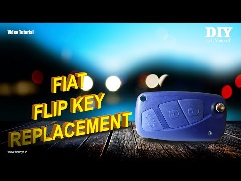 Fiat Flip Key Replacement