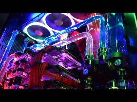 Time Lapse VR Flight Simulator PC - Triple GTX 1080 Ti SLi