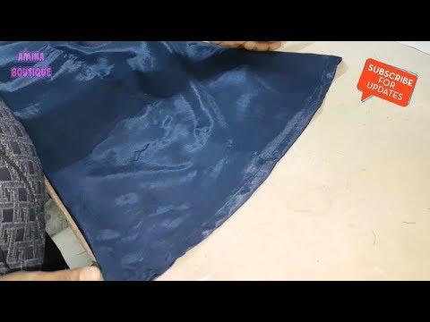 Kali Palazzo (Panelled Palazzo) Cutting and Stitching