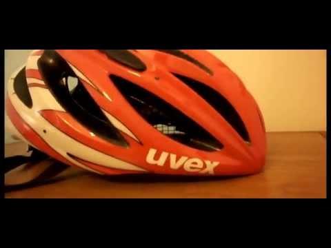 UVEX BOSS RACE ADJUSTABLE LIGHTWEIGHT ROAD BIKE BICYCLE HELMET REDWHITE SIZE 52 56cm