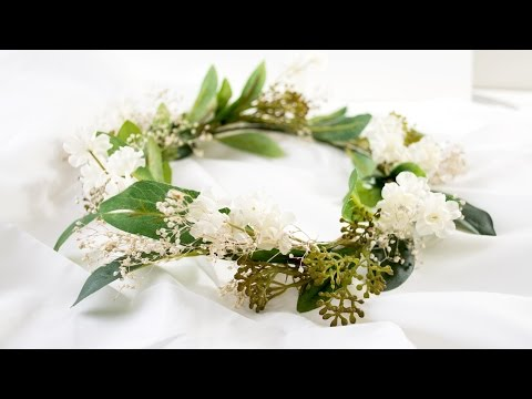 DIY Flower Crown | Quick and Simple