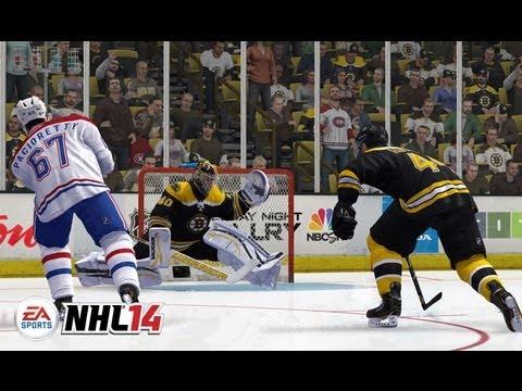 NHL 14 Goalies Gameplay Trailer