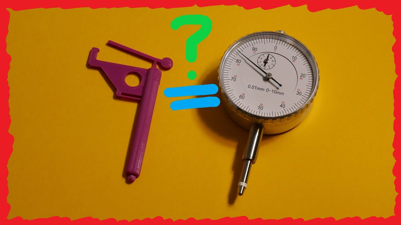 Dial Indicator 📏 3D-Printed COMPLIANT MECHANISMS!!📏