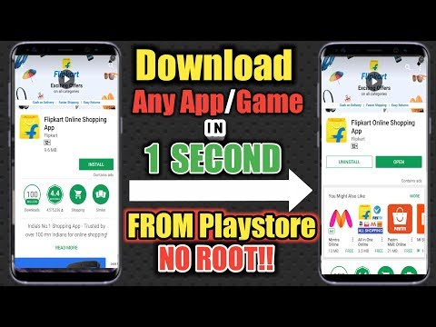 How To Download Any App In 1 Second From Playstore No Root Access Required!