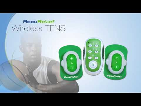 AccuRelief Wireless Remote Control TENS Pain Relief System (Over the Counter TENS UNIT)