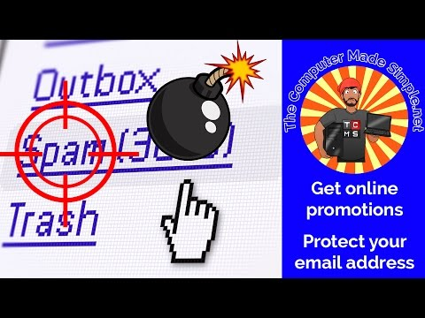 Avoid spam emails when signing up for online promotions! - QUICK TIPS