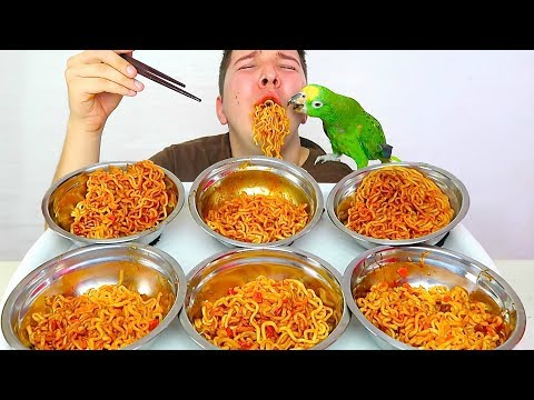 NEW 2X Spicy Curry Fire Noodle 커리 먹방 • Unboxing & Challenge • MUKBANG