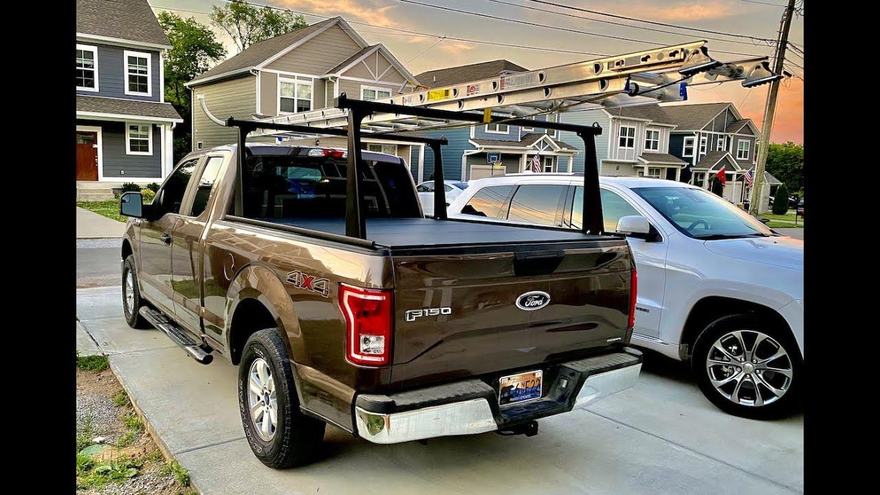 Best Truck Ladder Rack & Hard Tonneau Cover 2021!!!