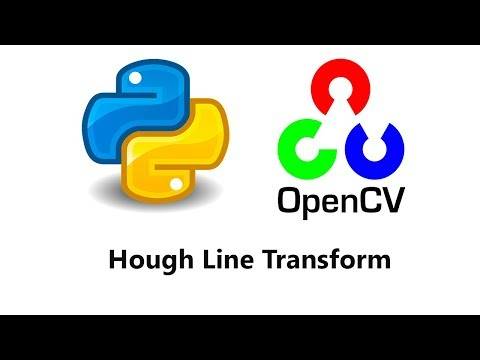 41: Hough Line Transform on a Live Video