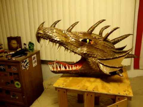 The Dragon Mask finished!