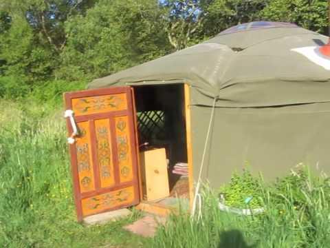 Yurt Holidays in Wales - Annie's Land, Tir Heddwch