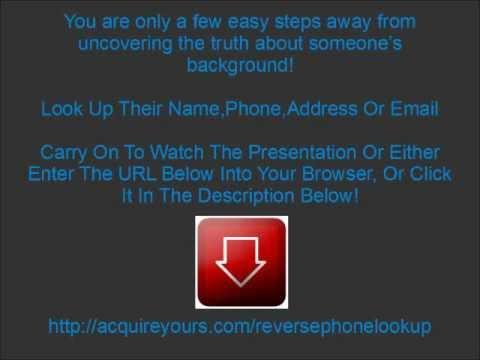 Reverse Phone Lookup - Reverse Cell Phone Number Lookup