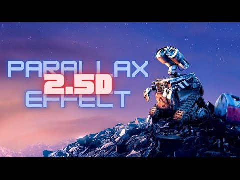 Create a 2.5D Parallax Effect in Photoshop.