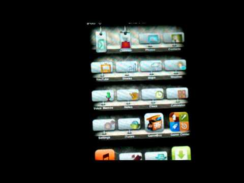 2g Ipod Touch MC and MB Model GreenpoisOn Update Jailbreak IOS 4.1 Untethered!
