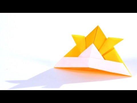 How to Make a Samurai Helmet | Origami
